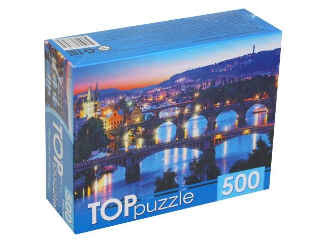 Пазлы  500 деталей TOPpuzzle Итальянские мосты КБТП500-6807