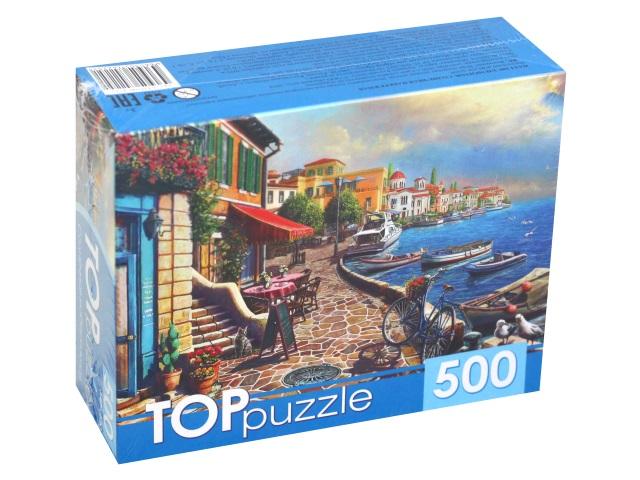 Пазлы  500 деталей TOPpuzzle Солнечная набережная ХТП500-4225