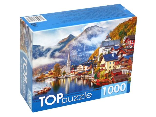 Пазлы 1000 деталей TOPpuzzle Австрия Гальштат ГИТП1000-2153\10