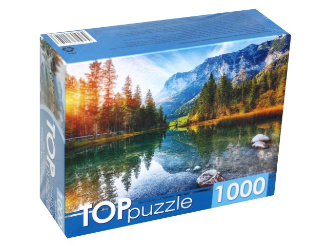 Пазлы 1000 деталей TOPpuzzle Германия Озеро Хинтерзее ГИТП1000-2150