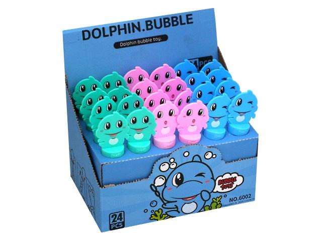 Пузыри мыльные  30мл Рыжий кот Дельфин AN03332