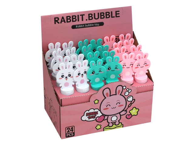 Пузыри мыльные  30мл Рыжий кот Кролик AN03333
