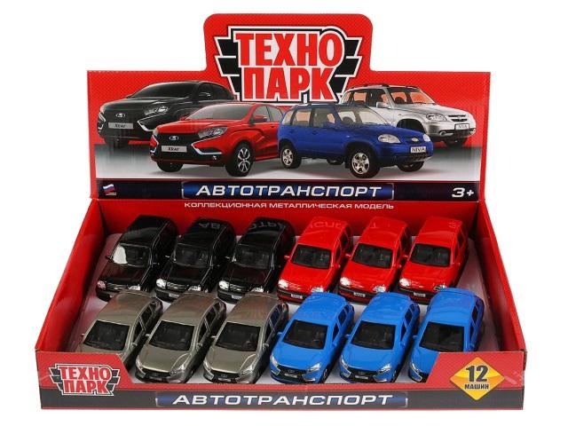 Машина металл Технопарк Chevrolet Niva/Lada XRay 12см CHEVY-XRAY-12M