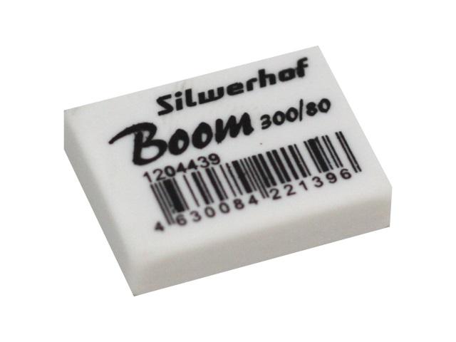 Ластик Silwerhof Boom 26*18*8см белый 1204439