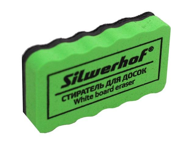 Губка для досок Silwerhof 11*6 см войлок зеленая 659004-02