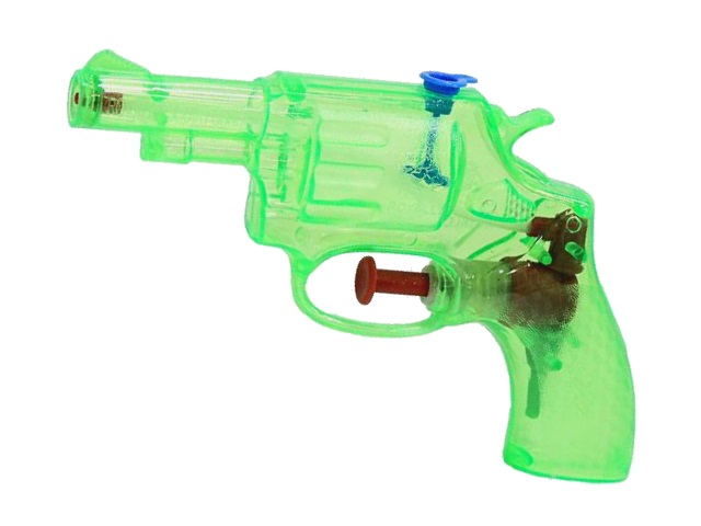 Водяной пистолет  9.5см Рыжий кот Неон-2 1992255