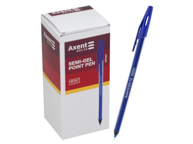Ручка масляная Axent Delta синяя 0.5мм DB2060-02