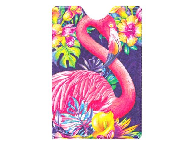 Обложка для пропуска Miland Фламинго ОП-2169