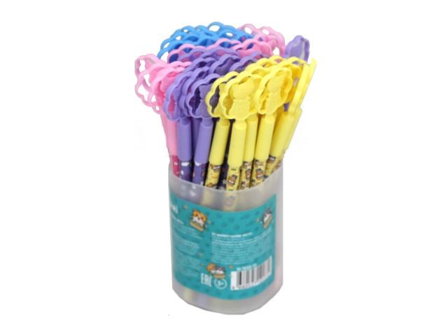 Ручка шариковая Mazari Kitty синяя 0.7мм M-7658-70