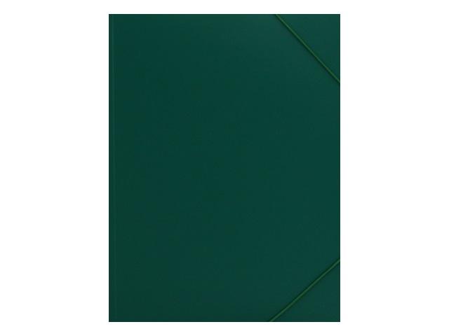 Папка на резинке А4 Mazari зеленая 0.5мм M-1601