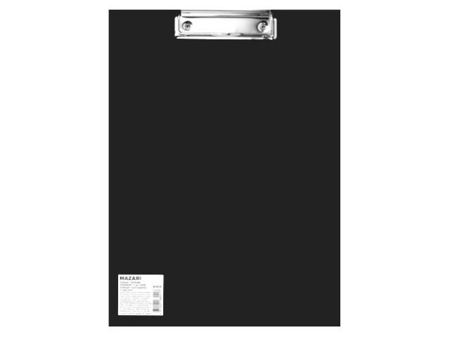 Планшет А4 пластик Mazari черный М-4033