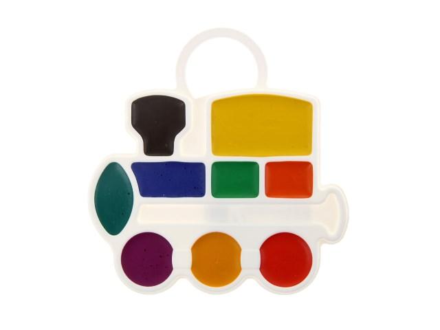 Краски  6 цветов акварель медовая Престиж Луч 18С 1230-08