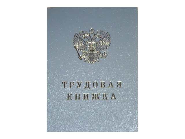 Трудовая книжка А6 22л ТК Гознак