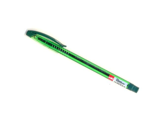Ручка масляная Cello Slimo зеленая 1мм