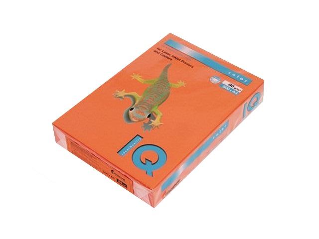 Бумага А4  80 г/м2 500 л. IQ Color интенсив оранжевый OR43 155944