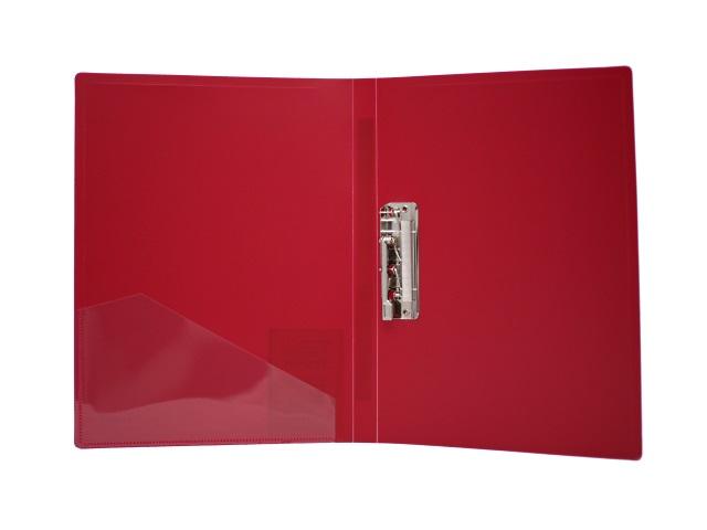 Папка с зажимом А4 красная 0.6мм Proff Next CF901P-01