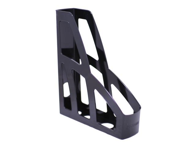 Лоток вертикальный  7см Стамм Лидер черный ЛТ122