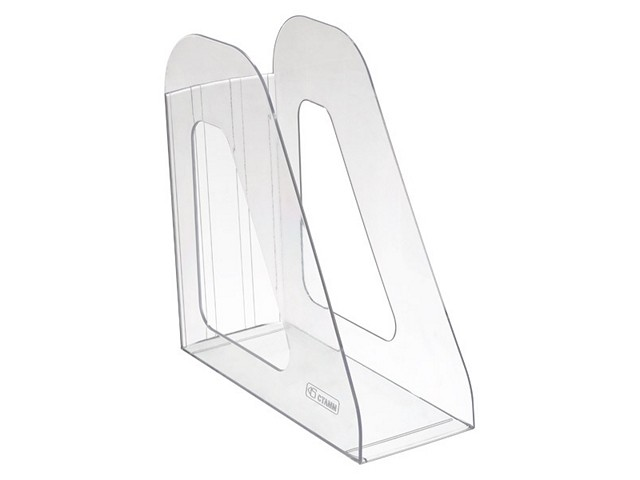 Лоток вертикальный  9см прозрачный Фаворит ЛТ701