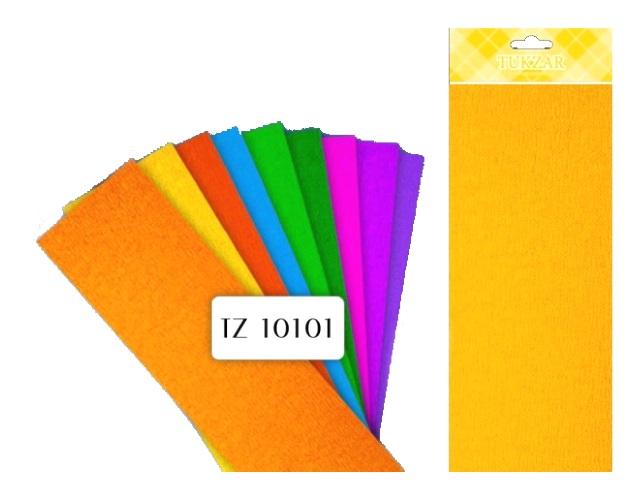 Гофробумага Tukzar оранжевая 50*250 см 15 мкм TZ 10101