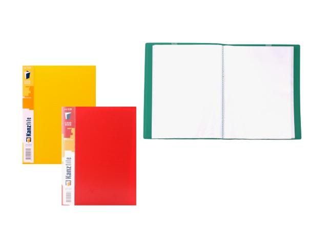 Папка с файлами  60ф А4 цветная Kanzfile 07М-60К