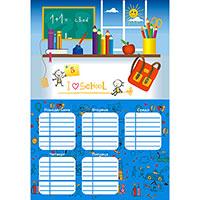 Плакаты, Расписание уроков