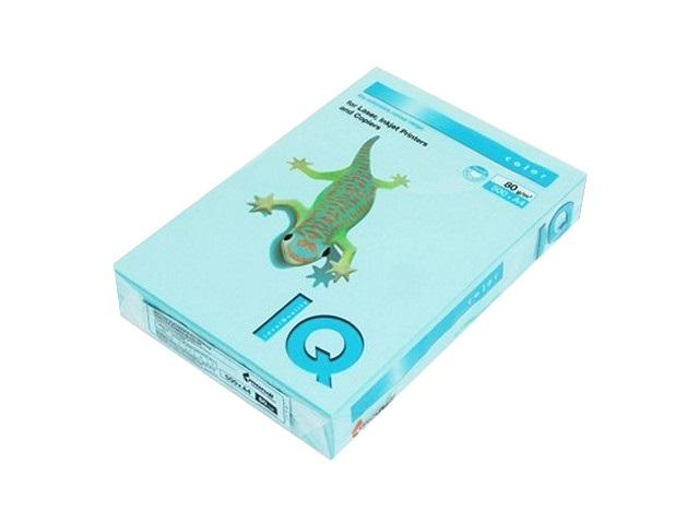 Бумага А4 80 г/м2 500 листов голубая, IQ MB30 155932