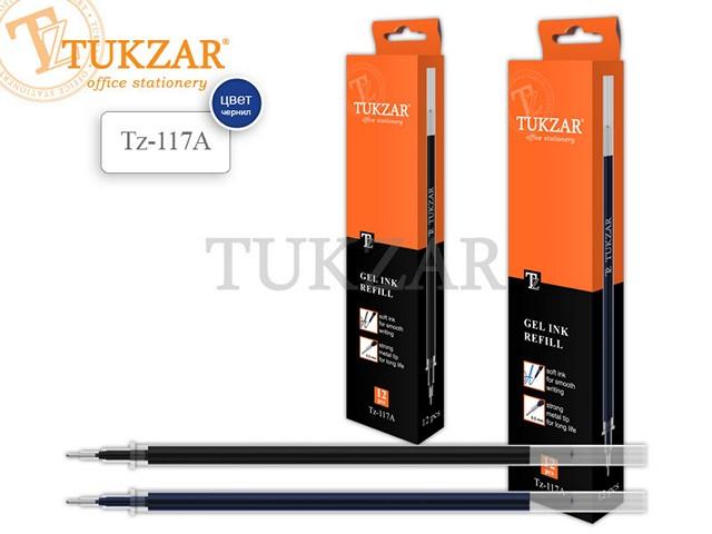 Стержень гелевый 131мм., синий, 0.5мм., Tukzar