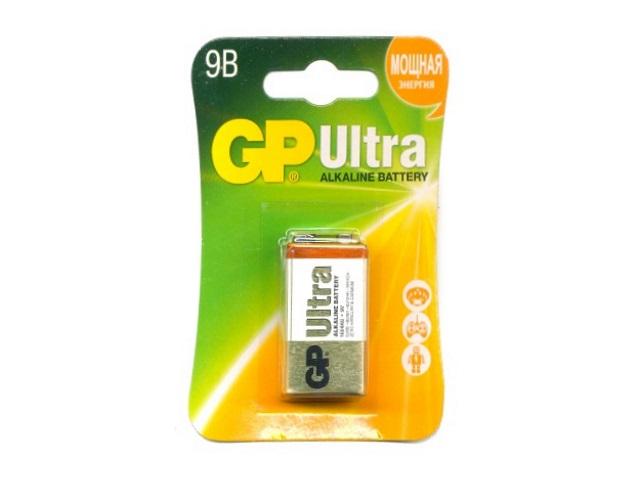 Батарейка 6LR61 9V крона, щелочная, Ultra GP