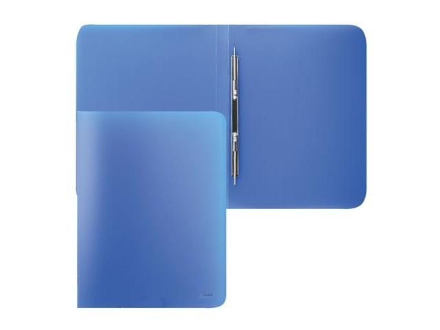Папка-усы с карманом А4, синяя, 0.6мм., Proff Next