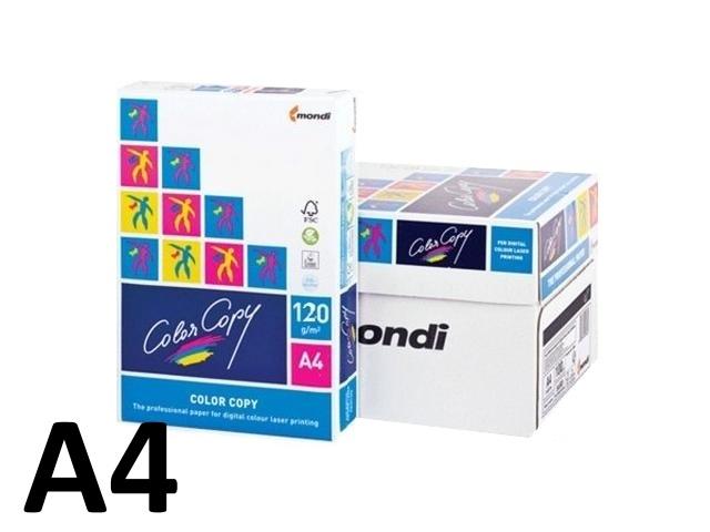 Бумага А4 120 г/м2 250 листов класс А, Color Copy