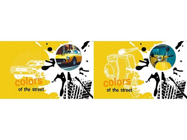 Альбом для рисования 40 листов А4 на скобах Цвета улицы, Академия Групп EAC-7448/2