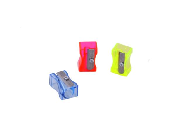 Точилка пластиковая, цвета в ассортименте, KUM 100-1 FT