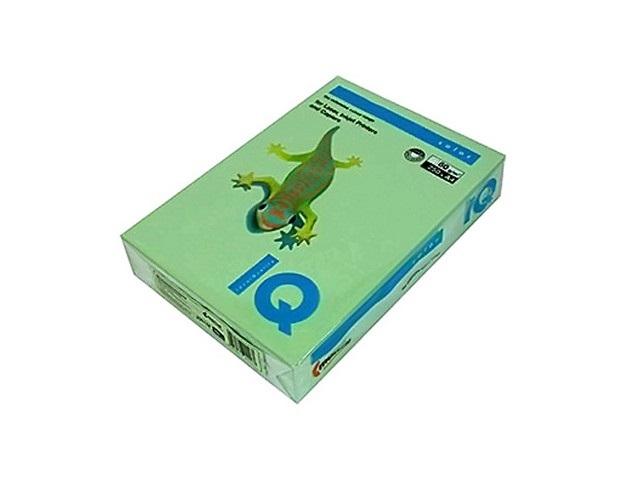 Бумага А4 80 г/м2 500 листов зеленая, IQ MG28 155926