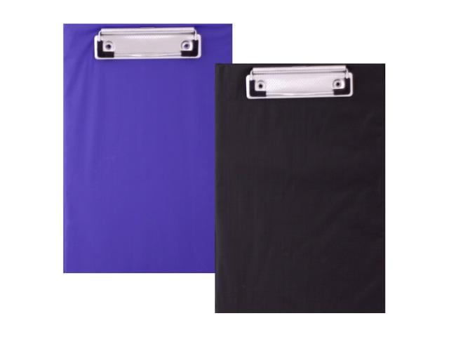 Планшет А5 картонный черный/синий