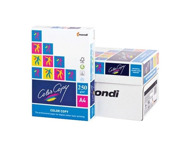 Бумага А4, 250 г/м, 125 листов, класс А, Color Copy