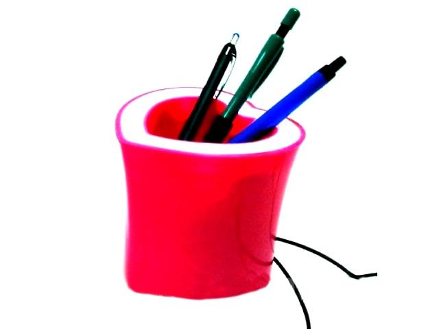 МР3-спикер-светильник, Сердечко, с подставкой под ручки, в коробке