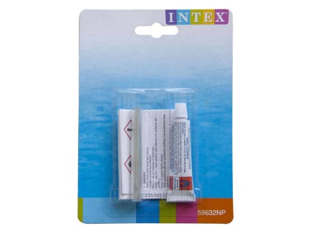 Ремкомплект (клей, латка), блистер, Intex