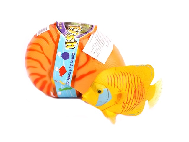 Животные, Рыбки в ракушке, пластиковые, сборные, в пластиковой коробке, Metr Plus