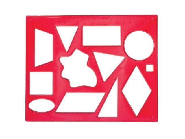 Трафарет, геометрические фигуры № 2, Луч