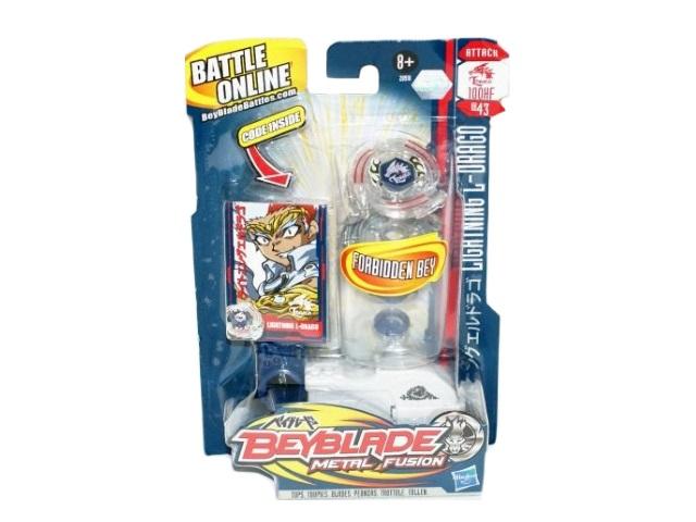 Запускная игрушка Волчок, набор 4шт., + игровые карточки, в коробке