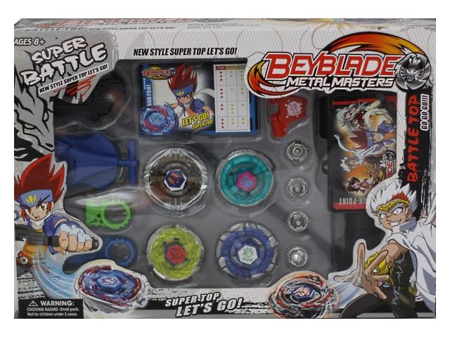 Запускная игрушка Волчок, набор 6шт., в коробке