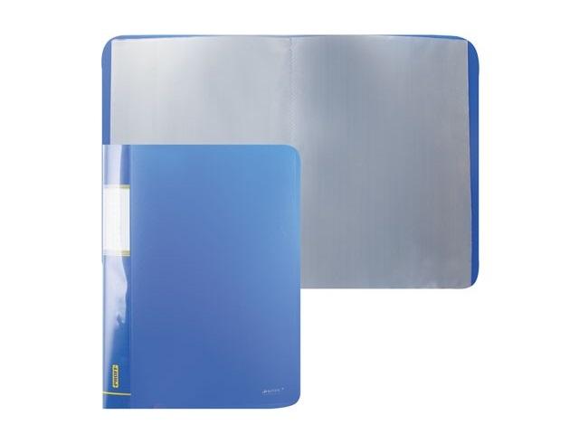 Папка с файлами 20ф., А4, синяя, Proff Next