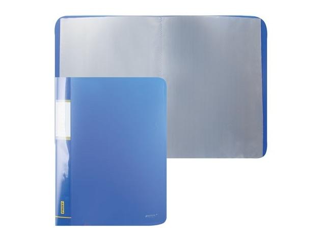Папка с файлами 30ф., А4, синяя, Proff Next