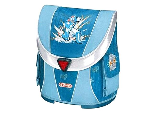 Ранец ортопедический 38*33*17 см, синий, Masters Робот, Herlitz