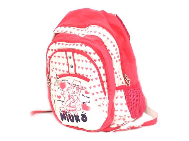 Рюкзак 43*28*18 см, розовый, Девочка, Niuka