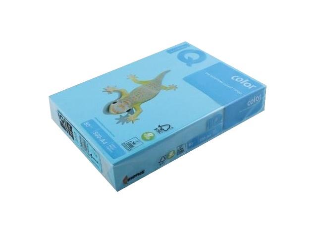 Бумага А4 80 г/м2 500 листов cветло-синяя интенсивная, IQ AB48 155951