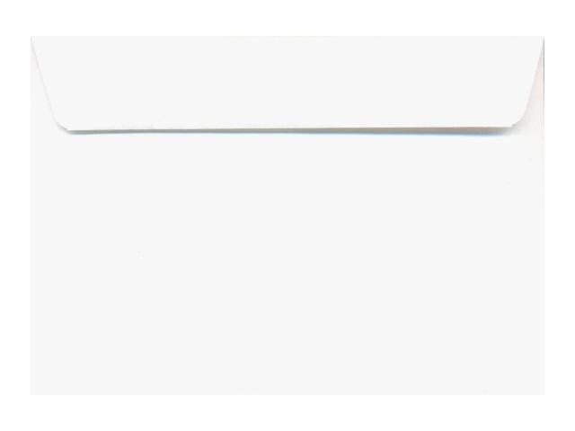 Конверт С6, с клеевой полосой, белый, Эмика 2000