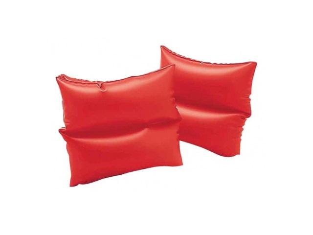 Нарукавники, 19*19 см, красные, в пакете, Intex