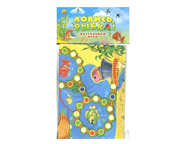 Настольная игра Ловись рыбка, в пакете, Рыжий кот ИН-7162