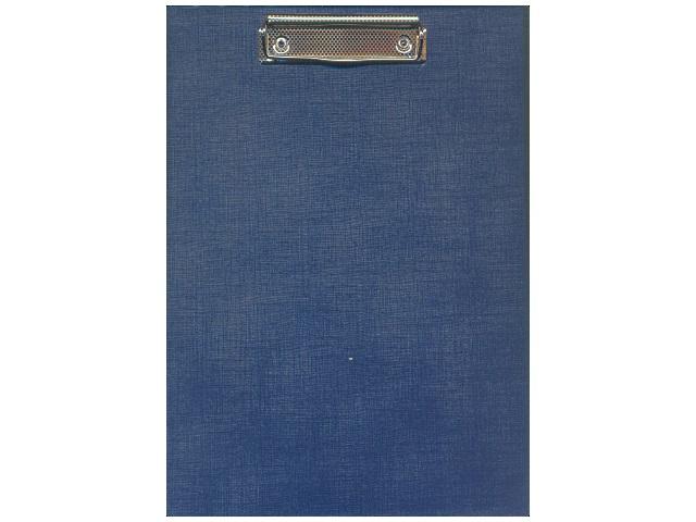 Планшет А4, бумвинил, синий, Имидж